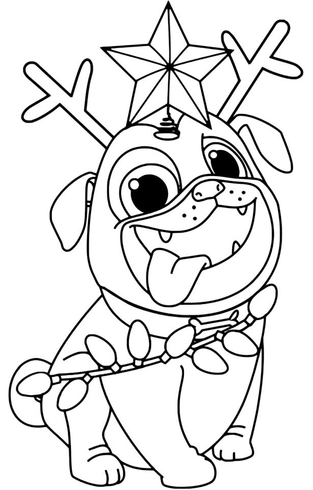 Get This Puppy Dog Pals Coloring Pages Printable 0dsz