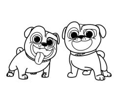 Puppy Dog Pals Coloring Pages for Kids 1aqw