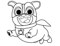 Puppy Dog Pals Coloring Pages vgh5