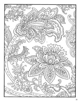 Adult Coloring Pages Paisley Free 5klm