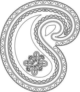 Adult Coloring Pages Paisley Printable 4psk