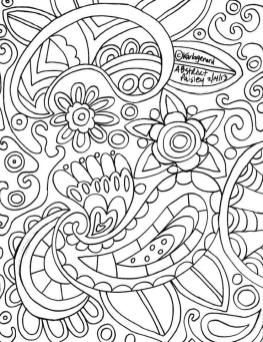 Adult Coloring Pages Paisley Printable 5pab