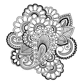 Adult Coloring Pages Paisley Printable 8esy