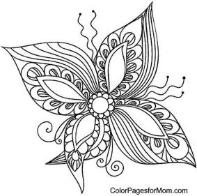 Adult Coloring Pages Paisley Printable 9lef