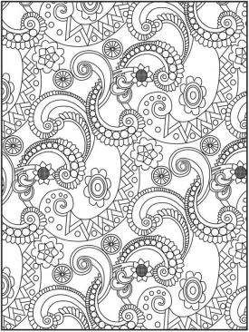 Adult Coloring Pages Paisley to Print 8shl