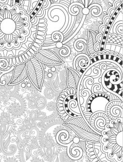 Adult Coloring Pages Paisley to Print 9oal