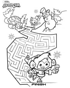 Animal Jam Coloring Pages Free Printable 5maz