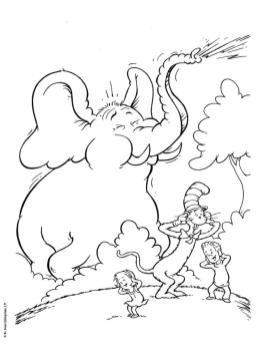 Cat In The Hat Coloring Pages to Print 6jnu