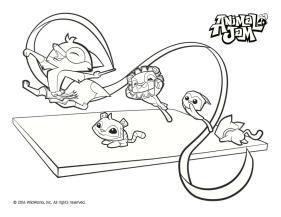 Gymnastic Animal Jam Coloring Pages to Print 4gym