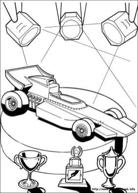 Hot Wheels Coloring Pages for Kids 8fst