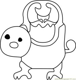 Woshua Undertale Coloring Pages for Kids wsh2