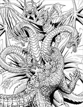 Adult Fantasy Coloring Pages 3thd