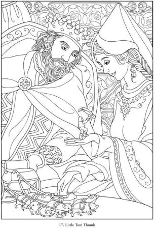 Advanced Fantasy Coloring Pages for Grown Ups 7ltt
