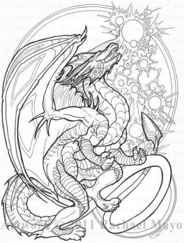 Advanced Fantasy Coloring Pages for Grown Ups 9bmd