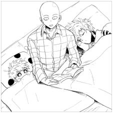 Anime Coloring Pages One Punch Man