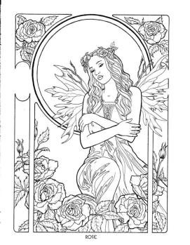 Fantasy Coloring Pages for Adults 8afw