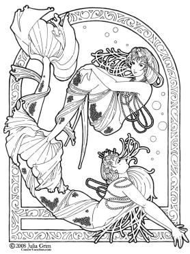 Fantasy Coloring Pages for Adults 9tmf