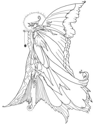 Free Fairy for Adults Coloring Pages 7js8