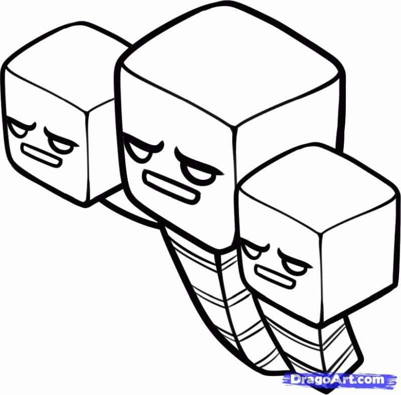 Free Minecraft Coloring Pages to Print 1ehd