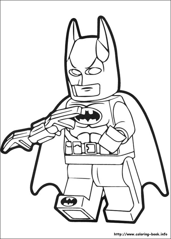 Lego Batman Coloring Pages 2btr