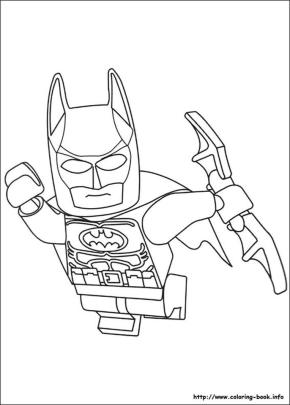 Lego Batman Coloring Pages 3dfl