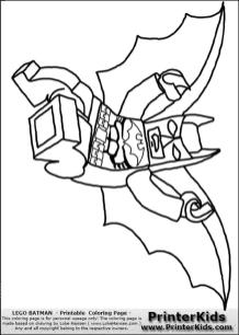 Lego Batman Coloring Pages 4tpf