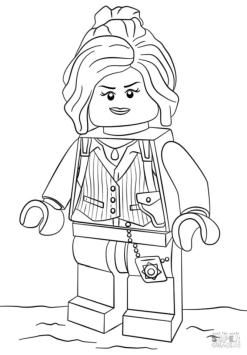 Lego Batman Coloring Pages Beautiful Barbara Gordon