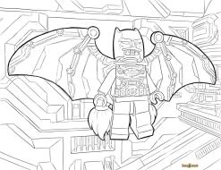 Lego Batman Coloring Pages Lego Batman in Ultimate Armor
