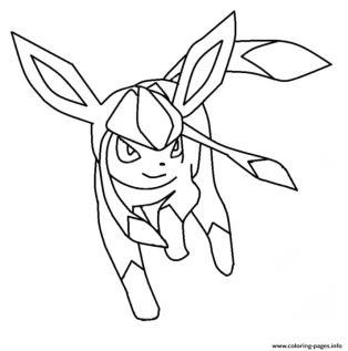 Mega Eevee Evolution Coloring Pages Pokemon dz7