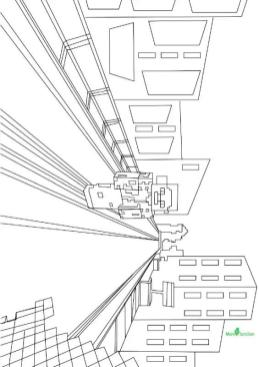 Minecraft Coloring Pages The World of Minecraft