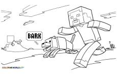 Minecraft Coloring Pages for Kids 1tgp