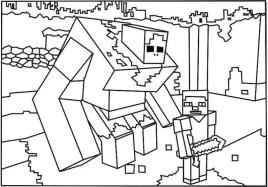 Minecraft Coloring Pages for Kids 2rdm