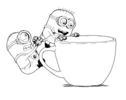 Minion Coloring Pages Printable 6tfu