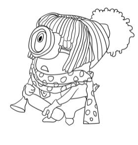 Minion Norbert Coloring Pages