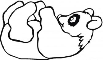 Panda Coloring Pages Free for Kids