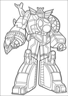 Power Rangers Coloring Pages 4mgz