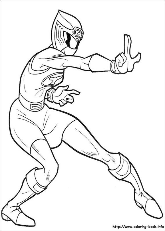 Power Rangers Coloring Pages Free to Print