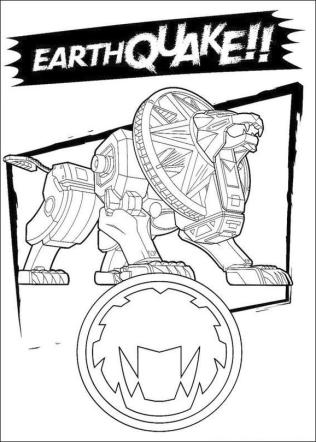 Power Rangers Coloring Pages Printable 3leq