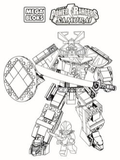 Power Rangers Coloring Pages for Kids 1smz