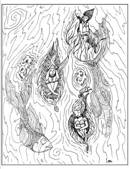 Printable Fantasy Coloring Pages for Adults 2tlf