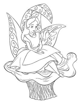 Alice In Wonderland Coloring Pages Free Printable 8cl2
