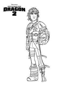 How to Train Your Dragon Coloring Pages Free Hiccup Is the Man