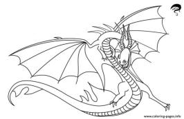 How to Train Your Dragon Coloring Pages for Kids Death Song Dragon