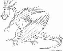 How to Train Your Dragon Coloring Pages for Kids Hookfang