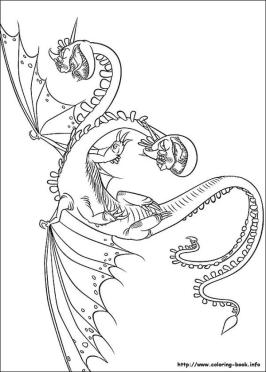 How to Train Your Dragon Coloring Pages to Print Hideous Zippleback