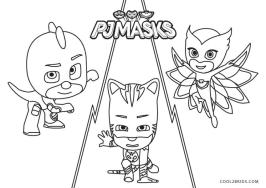 PJ Masks Coloring Pages Black and White PJ Masks Coming to Get You