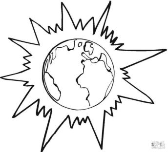 Solar System Coloring Pages Free to Print ers0