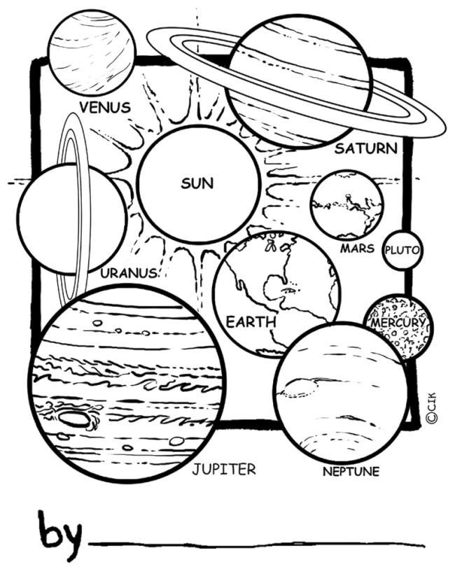 Solar System Coloring Pages Printable dqw7