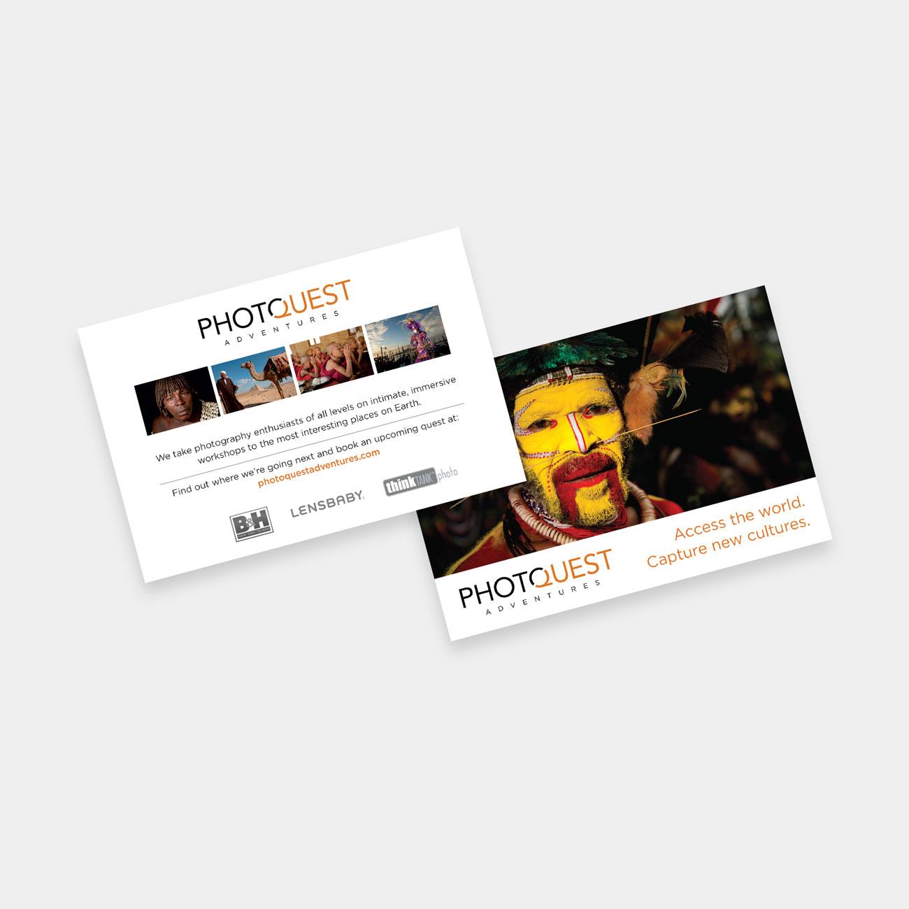 PhotoQuest promo card
