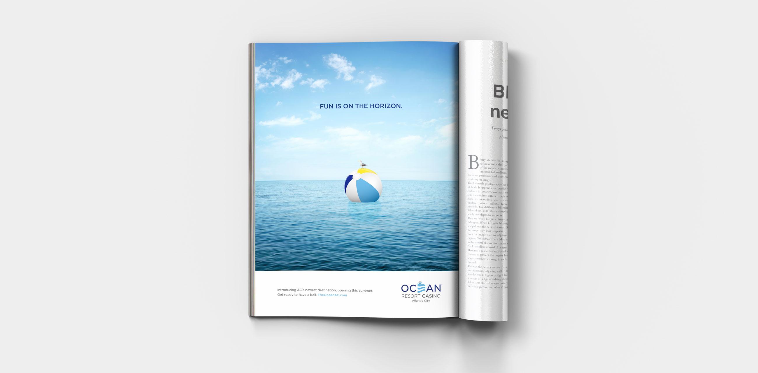 Seagull ad in magazine